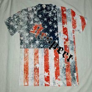 Other - American Flag Respect T Shirt